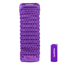 Sleeping Pad Outdoor Air Mattress Inflatable Camping Ground Lightweight Built-in Pillow Beach Mattres