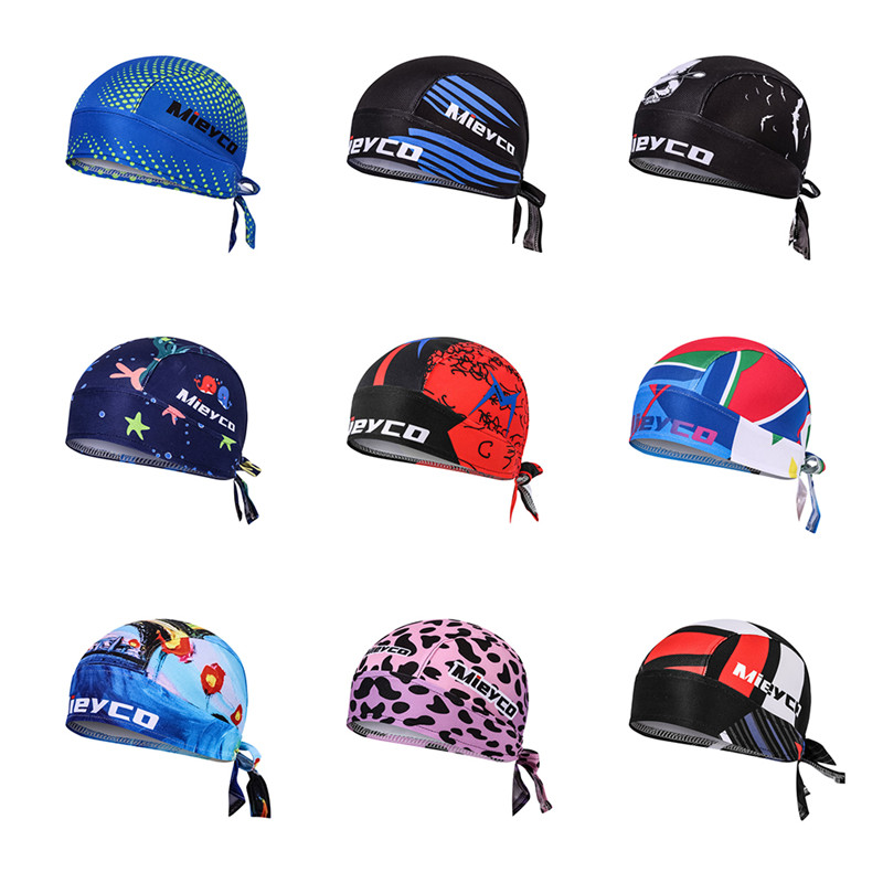 Unisex Ciclismo Pirate Cap Running Anti-sweat UV   Headwear   Men women's Cycling Bandana Bicycle Head Scarf Road Bike headband
