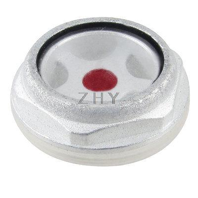 1.0-inch Thread Diameter Metal Air Compressor Oil Level Sight Glass air compressor o ring 1 2pt thread oil level sight glass