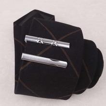 I-Remiel новые роскошные простые металлические цинковые металлический Узелок клип Короткие Узкие галстуки заколки для мужской рубашки воротник Заколки ювелирные аксессуары