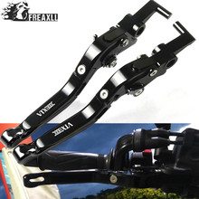 CNC Motorbike Accessories Motorcycle Brake Clutch Levers Adjustable Folding Extendable For Honda VTX 1300C VTX1300C 1300 C