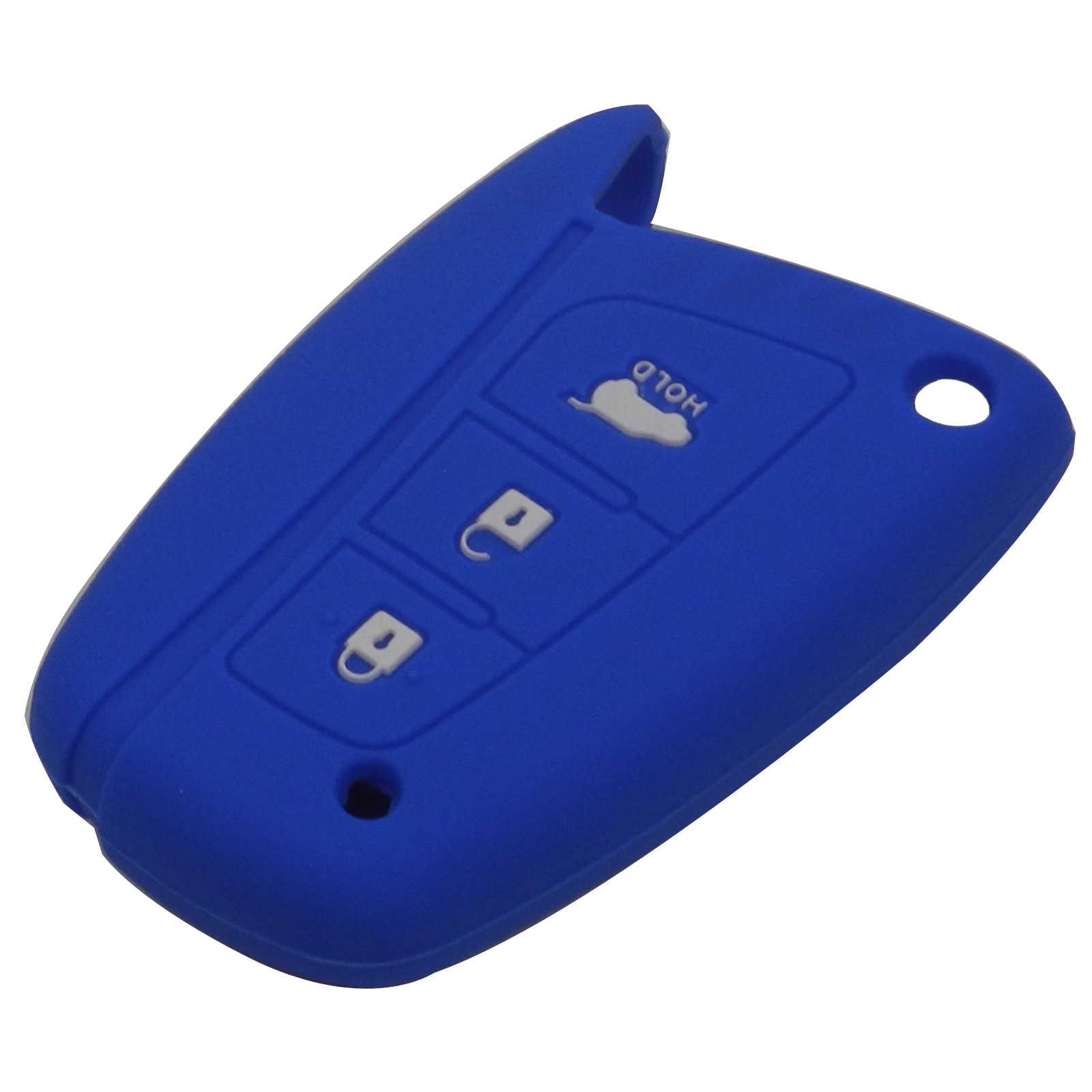 3 düğmeler uzaktan araba anahtarı durum kapak Hyundai Solaris ix35 ix45 Accent Elantra Santa Fe tutucu