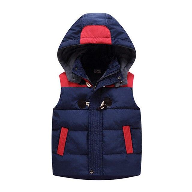 Children Hoodies Warm Vests...
