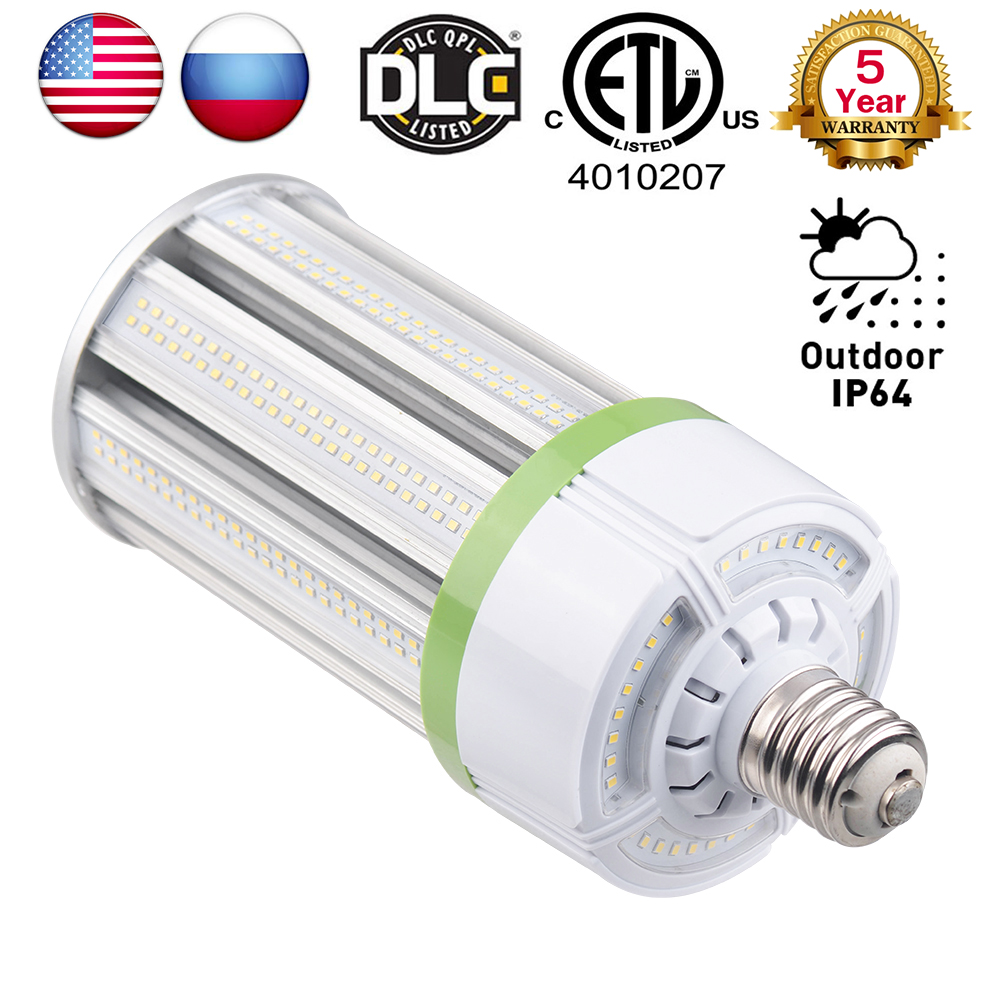 High lumen 80W 100W 120W 150W LED Bulb E26 E27 E39 E40 Street lighting light 85-265V AC Corn Lamp for Warehouse Engineer Squar