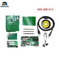 2018 New Green Full Sets UPA USB V1.3 ECU Chip Tuning UPA USB ECU Programmer Auto ECU Flasher Tool Full Adapters