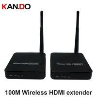 Hbt 216 100 м Беспроводной HDMI удлинитель передатчик приемник комплект до 100 м/328ft поддерживает IR HDMI передачи HDMI видео Отправителя