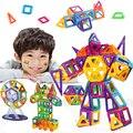 MINI Blocos 188 PCS Modelos Designer Magnético Blocos de Construção de Brinquedos para Crianças de Aprendizagem Educacional Iluminar Technic Brinquedos de Plástico