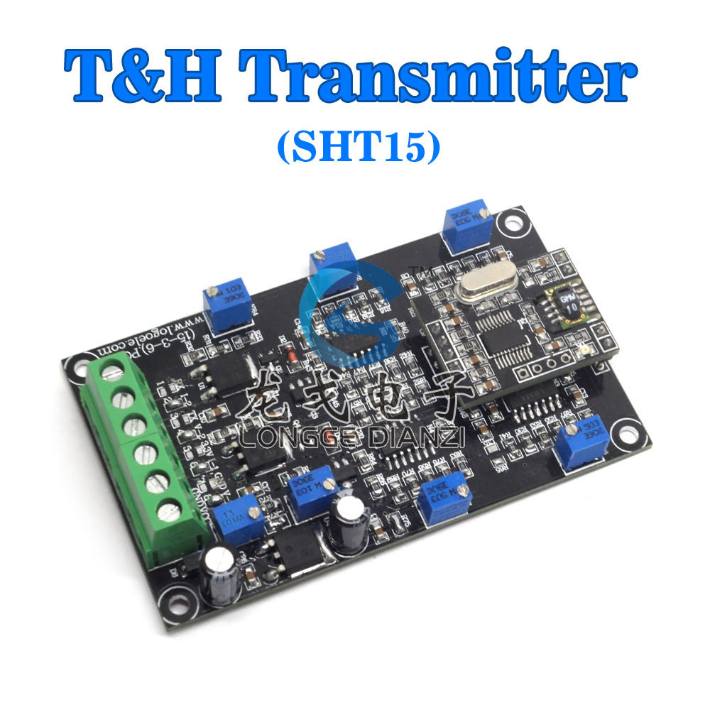ФОТО Free shipping, Temperature and humidity sensors, transmitters SHT15 the detection module