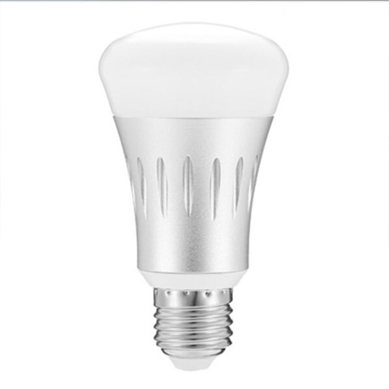 WiFi 2.4GHz Intelligent LED Lighting Bulbs APP Remote Control Adjust Color Light E27 B22 LampHolder RGB CW Intelligence Bulb