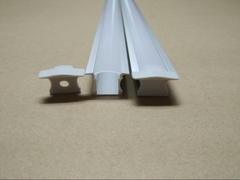 Gratis frakt Aluminiumprofil Deep Large Square För LED Strip Light - LED-belysning