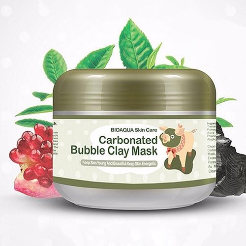 Chegada de novo! Moda Útil Beleza Cosméticos 100g Carbonatadas Bolha das mulheres Máscara de Argila