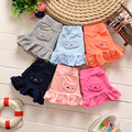 Hot! 2016 100% cotton newborn baby lace pants pocket pants baby girls pants bottoming culottes Free shipping 1-2 years