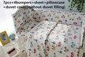 2016! 6/7PCS Baby Crib Cot Bedding Set baby bed linen bebe jogo de cama, Duvet Cover,120*60/120*70cm