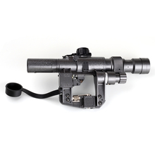 Tactical Red Illuminated 3 9x24 SVD Rifle Scope Sniper RifleScope Made in China Free Shipping