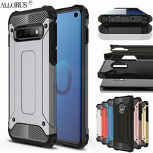 Luxury Armor Case for Samsung S10 s10e plus Shockproof Silicone Cover s10 S10e s10+ Full Protective case