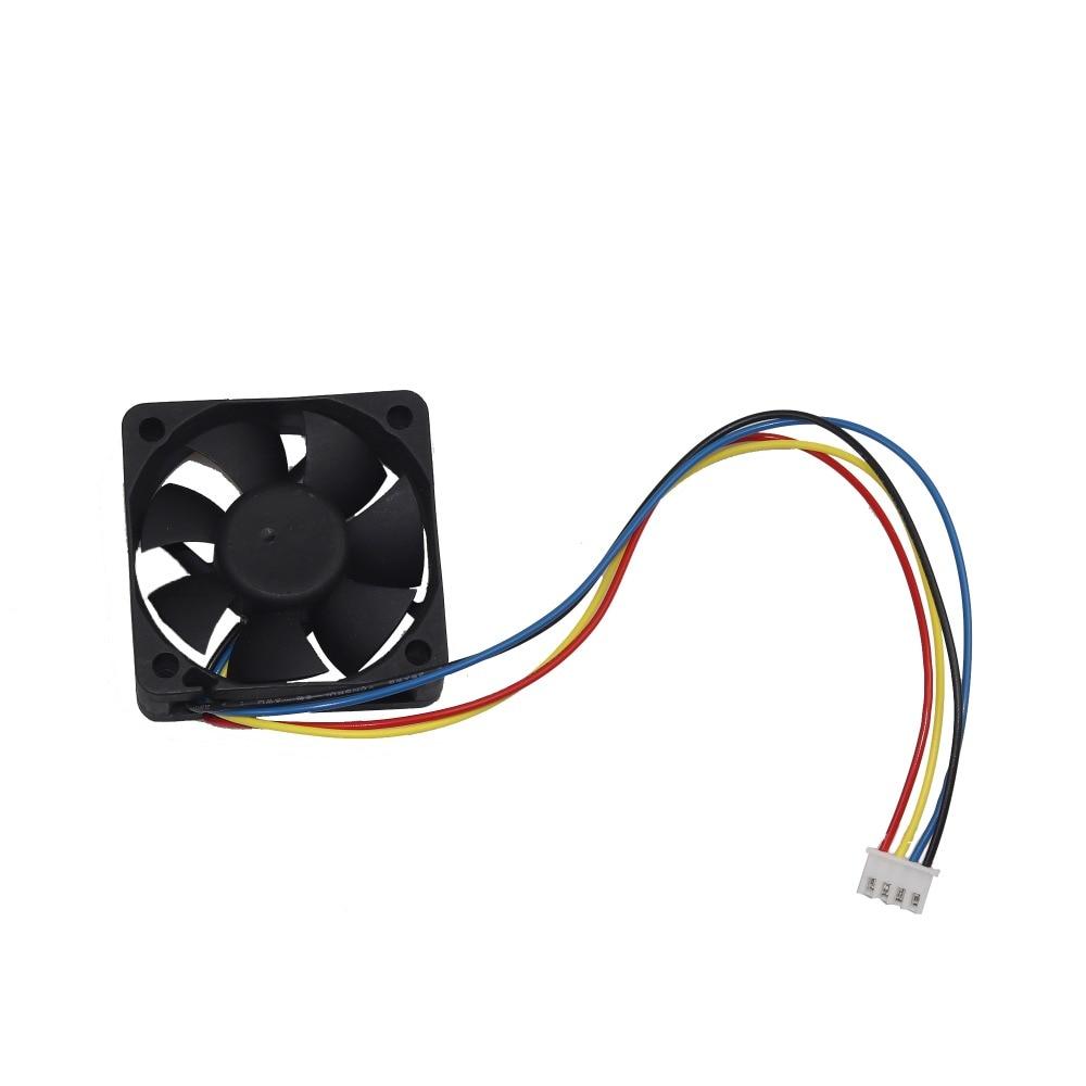 50 mm ventilador de PC enfriador 4 pines placa base Conector PC de - Componentes informáticos - foto 5