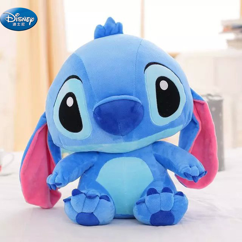 48 CM Kawaii Stitch Long Ears Plush Toys Disney Cute Dolls Soft Pillows For Baby Kids Dear Person Gift