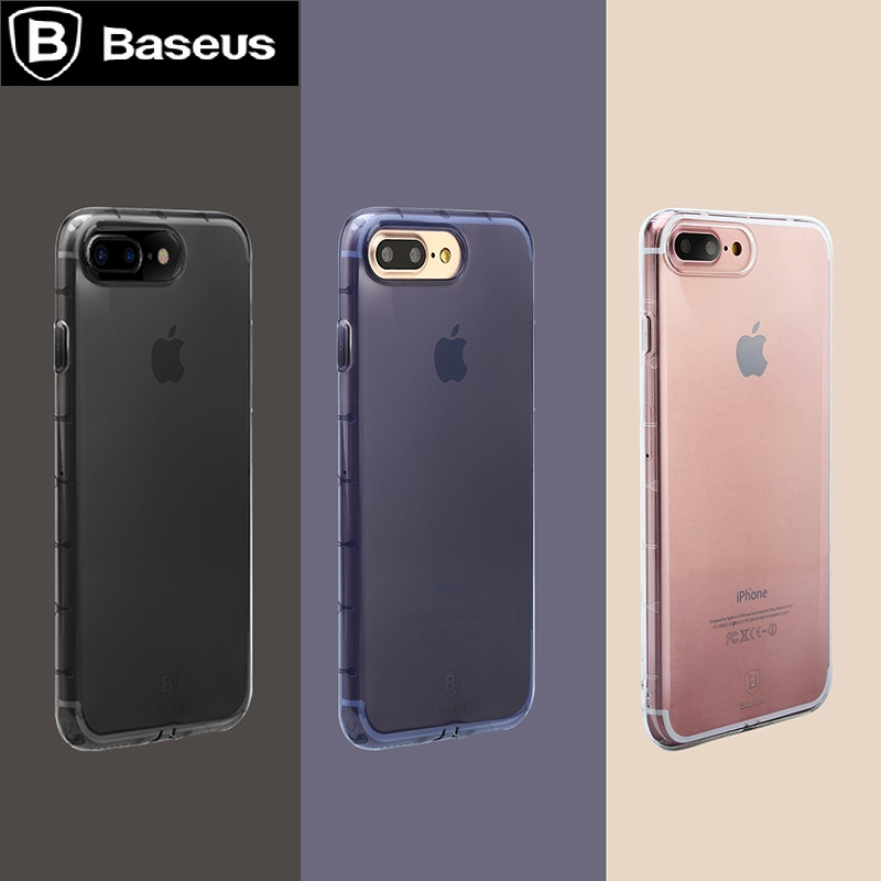 new product aa1bc 5fe99 US $11.36 |BASEUS Brand Anti Shock Series Ultra Slim Soft TPU Back Case For  iPhone 7 / For iPhone 7 Plus, With Retail Package-in Fitted Cases from ...