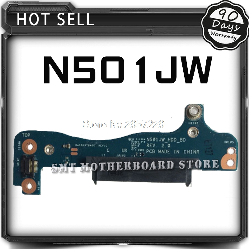 N501JW Hard disk Small Board N501JW hard disk interface HDD Hard Drive Board Tested Well Free Shipping d05021b maine board fittings of a machine tested well original