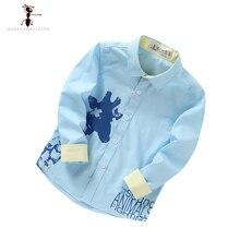 Giản dị Màu Xanh Màu Xanh Lá Cây Chiều Dài Đầy Đủ Vàng Lần Lượt xuống Cổ Áo Chàng Trai Áo Sơ Mi Trường Áo Blouse Camisa Infantil Menino 21570