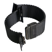 Luxury Watchband Metal straps For iWatch Apple Watch Band 38mm/42mm Stainless Steel Link Bracelet Hook Buckle Black/Silver Gifts