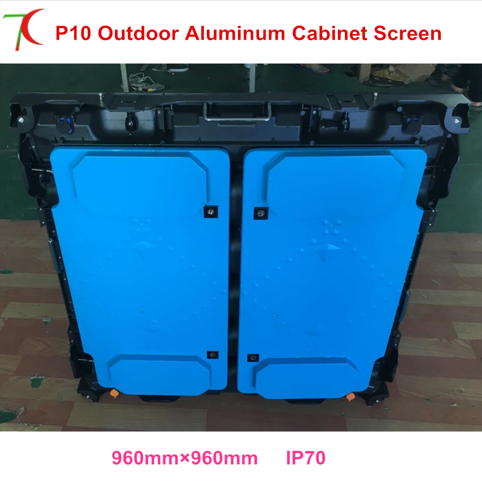 Outdoor stage P10 led video screen SMD led module waterproof cabinets