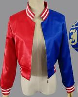 Harley quinn cosplay Costumes Coat printing
