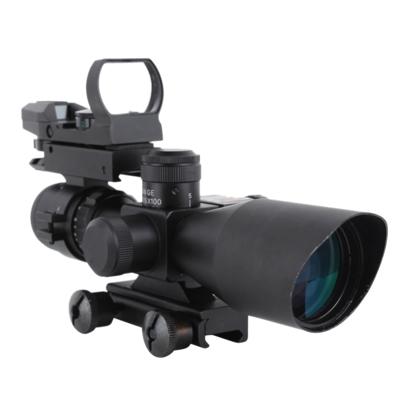 2018 Hunting Scopes 20mm Tactical Optics Dot Sight Rail Sniper Pistol Airsoft Air Guns Reflex Rifle Scopes Holographic Sights