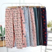 Sleep Trousers Women Velvet Fleece Lounge Pants COTTON Flann