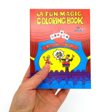 Color-changing Cartoon Magic Book Magic Tricks Props For Professional Magicians Children Classic Toys Talent Show Party classic kids magic tricks set toys super high quality with handbook dvd magic tricks stage show gift for children
