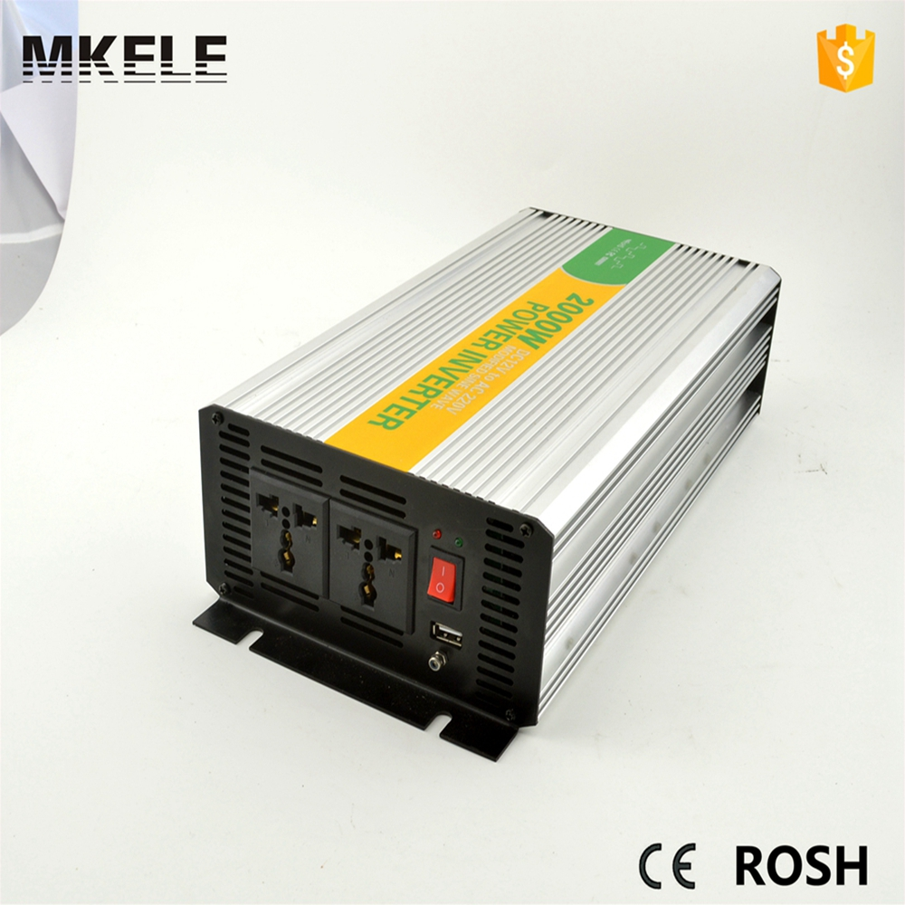MKM2000-481G 2kw  power inverter installation,48vdc 120vac dc ac modified sine wave inverter buy online in China