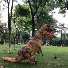 Cosplay Party Adult Inflatable t rex Costume Purim Halloween Dinosaur Jurassic World For Woman Man