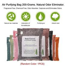цены Professional Pack Air Purifying Bag Nature Fresh Style Charcoal Bamboo Purifier Mold Odor Interior Air Fresher Tool