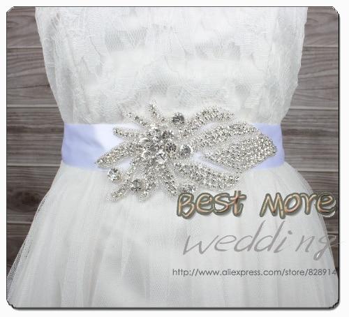 Žhavé prodejní kamínky nášivka večerní šaty opasek svatební křídlo pro svatební a párty ruční práce s 400cm dlouhou stuhou