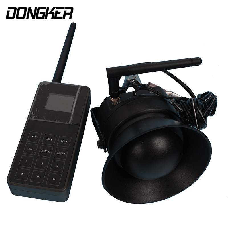 все цены на DONGKER CP-830B Electronic Hunting Decoy Bird Caller MP3 Wireless Remote Control Bird Sound Loudspeaker Outdoor Tool One For One онлайн