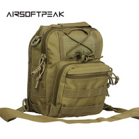 Hunting Accessory 600D Molle Tactical Low Profile Shoulder Bag Utility Backpack Men Bag Waterproof Backpack Outdoor