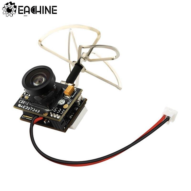 Nouveauté Eachine TX02 Super Mini AIO 5.8G 40CH 200 mW VTX 600TVL 1/4 Cmos FPV Caméra Pour FPV Multicopter