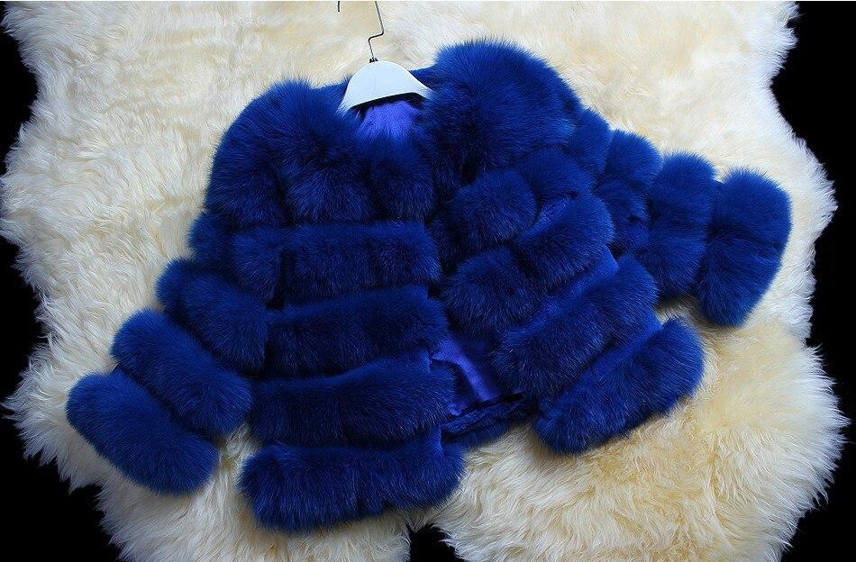 Mode En Gros Naturel Véritable De Veste Beige Détail bleu Livraison Manteau natural wine Red Ems Femmes Fourrure Gratuite Color Réel Renard F44Svq0P