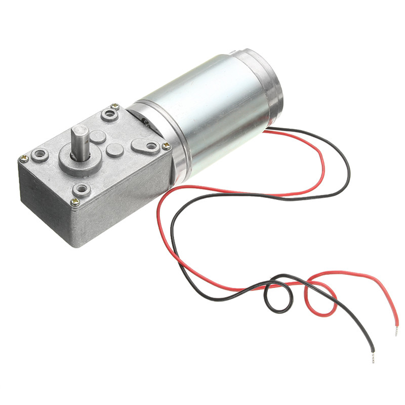 DC Worm Reducer Gear 12V 160rpm High Torque Motor Electric Motor With Reduction Popular  цены