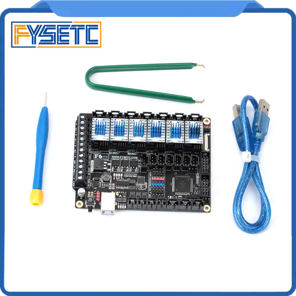 FYSETC F6 Board ALL in one Electronics Solution F6 V1 3 For 3D Printer CNC Devices