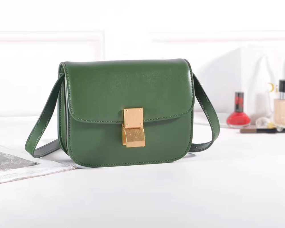 2017 genuine leather female classic shoulder handbags women bags simple crossbody leather belt small makeup lady