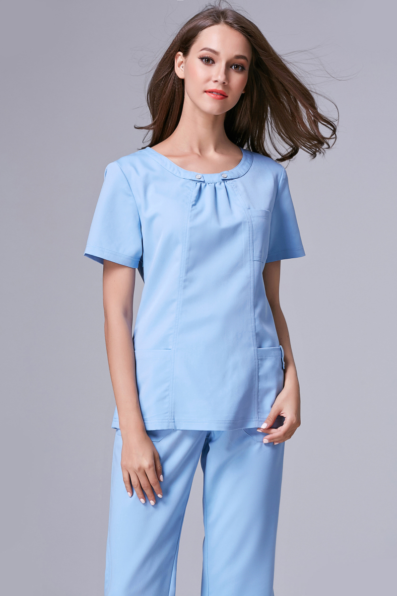 ₩2017 Rushed Medical ᓂ Suit Suit Lab Coat Women Hospital ⑤