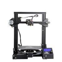 Новейший Ender 3 Pro 3d принтер DIY комплект Модернизированный Cmagnet сборная пластина для восстановления сбоя питания печать Средняя мощность мягк