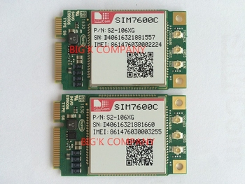 JINYUSHI for SIM7600C Mini Pcie  LTE 100% New&Original cat4  LTE-TDD/LTE-FDD/HSPA+/TD-SCDMA/GSM/GPRS/EDGE Free shipping