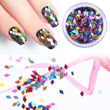Mixed Diamond Nail Sequins Tips Decoration
