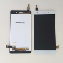 White LCD Display Touch Screen Digitizer Glass Assembly For Huawei P8 Lite ALE-L04 L21 Relacement