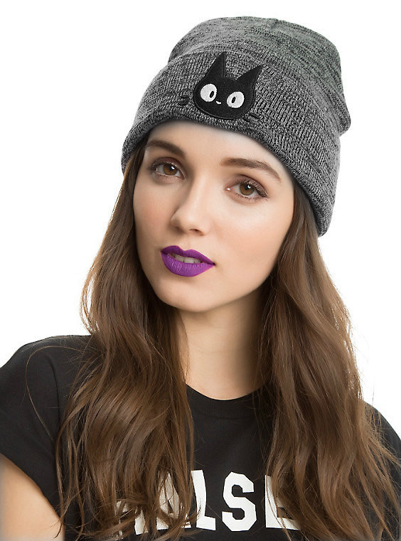 Autumn and Winter Men and Women Cats Embroidered Warm Knitted Hat Hedging Wool Skullies  & Beanies Cap RX001 skullies 2017 new arrival hedging hat female autumn and winter days wool cap influx of men and women scarf scarf hat 1866729