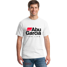 ABU GARCIA REEL Logo Tshirts Summer Novelty Vogue Short Sleeve T-shirts Men Casual Tops T Shirts Clothing
