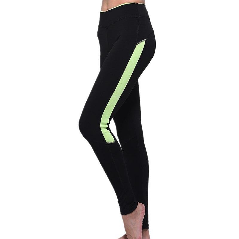2018 Neue Frauen High-elastische übung Schnell Wirkende Leggins Hohe Taille Collagepants Fitness Bewegung Schwarz Grau Leggings 00888 Professionelles Design
