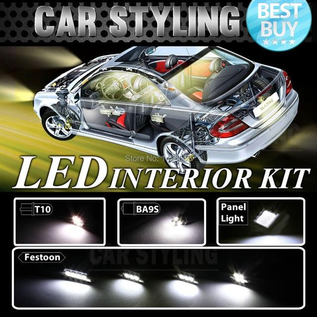 13pcs White LED lights interior package kit for Tahoe 07 12 ...
